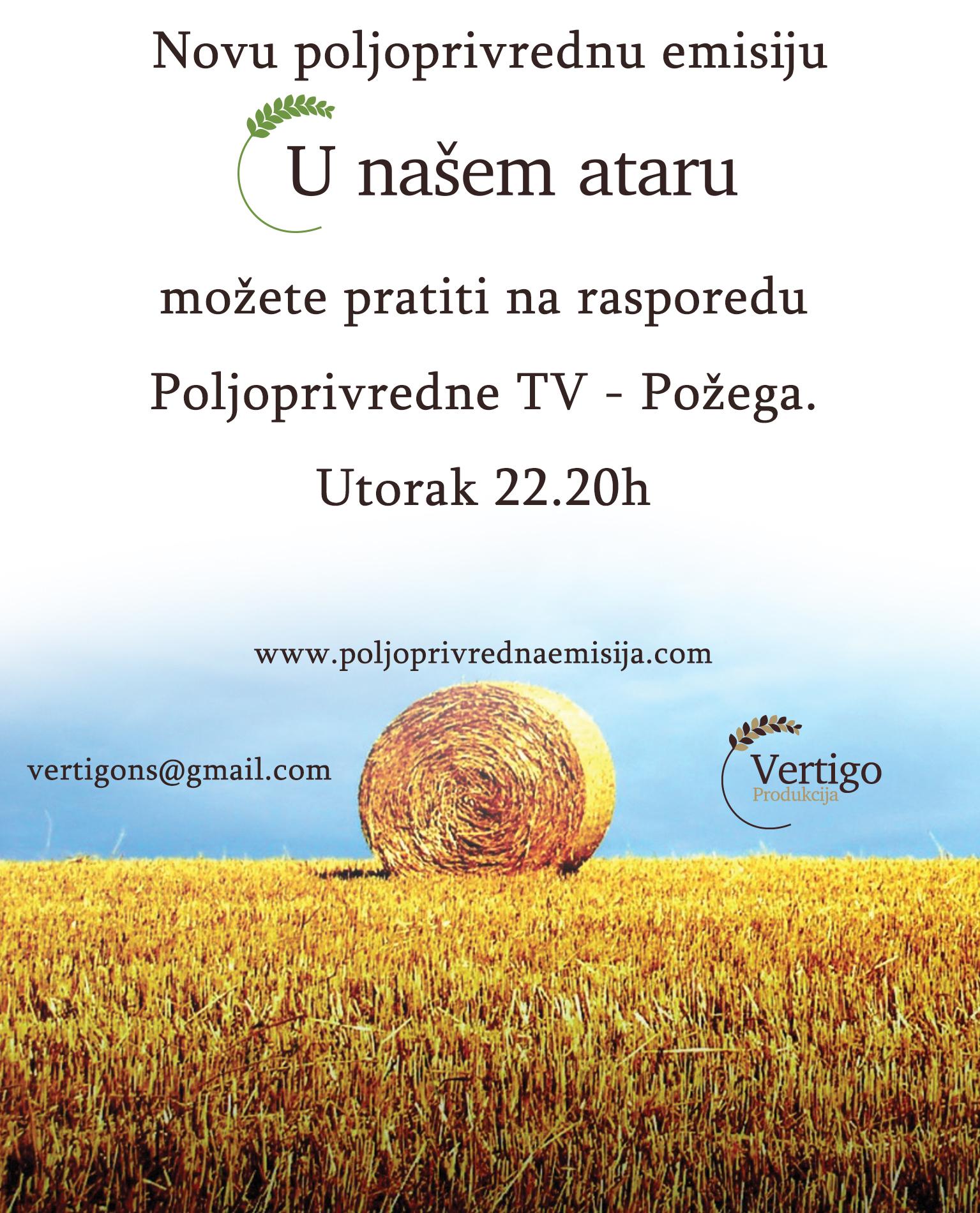 Nova poljoprivredna emisija